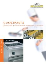 Cooking   700 mm depth   Gas and electric pasta cookers