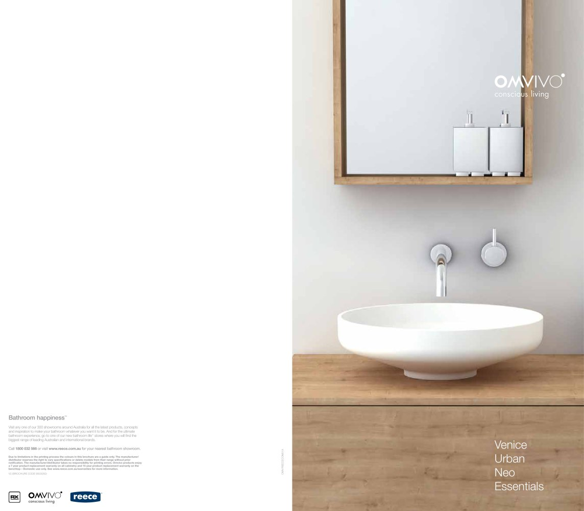 Attractive Omvivo Bathroom Furniture   1 / 16 Pages Photo