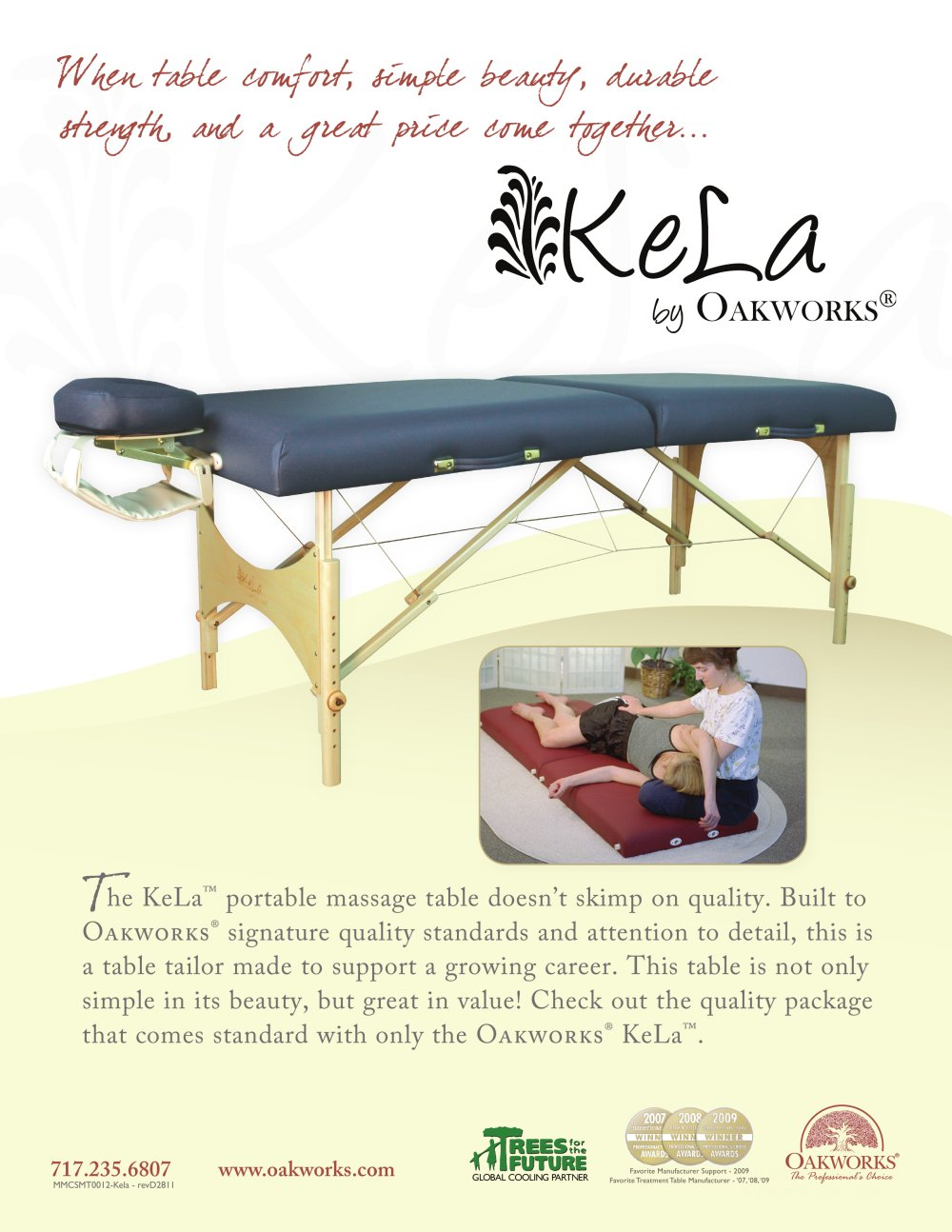 kela 30 inch massage table package 1 2 pages