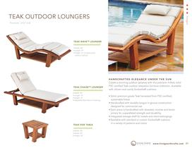 outdoor loungers