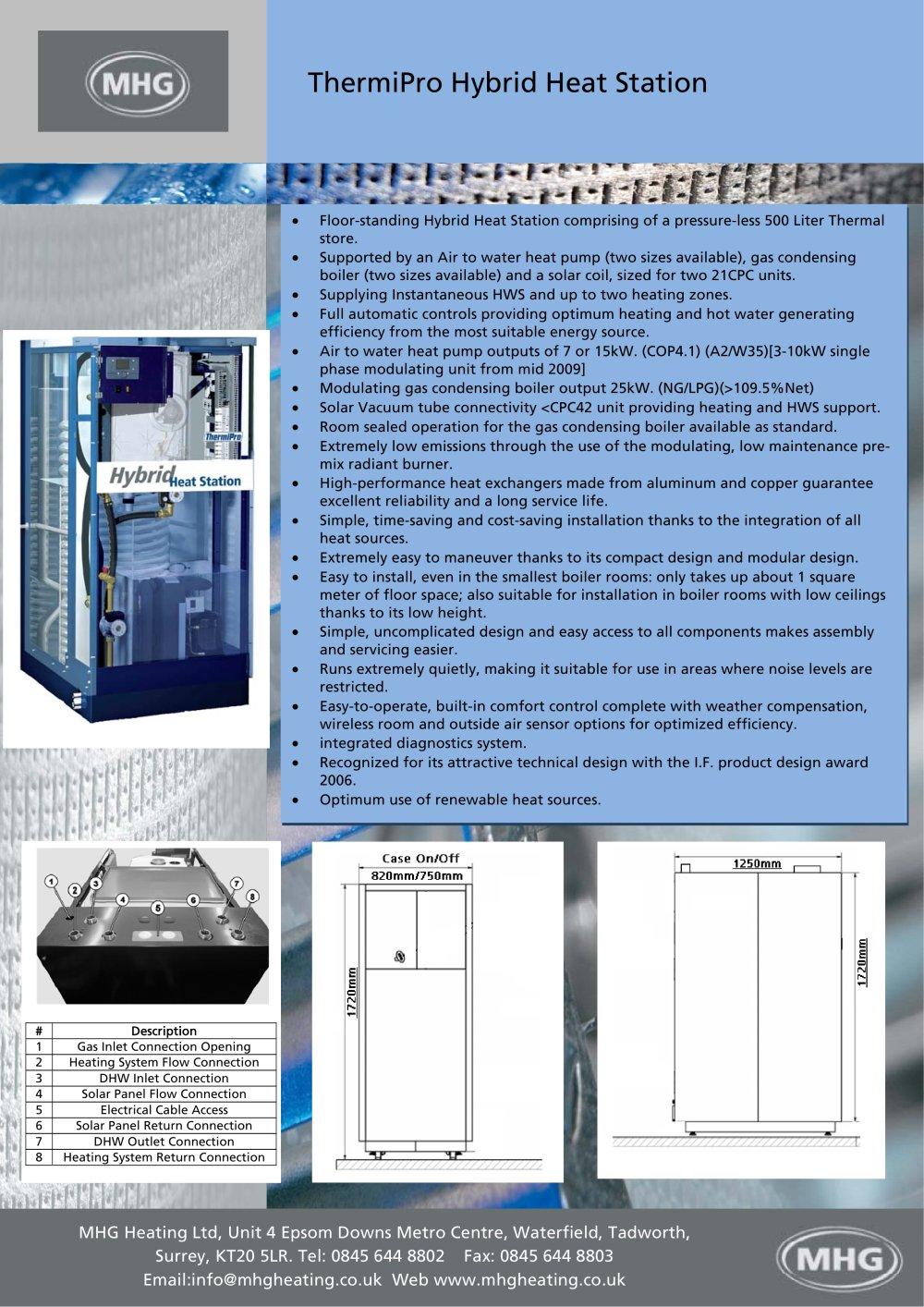 ThermiPro Hybrid Heat Station - MHG Heating - PDF Catalogues ...