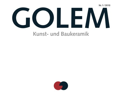 Golem Katalog 01/10