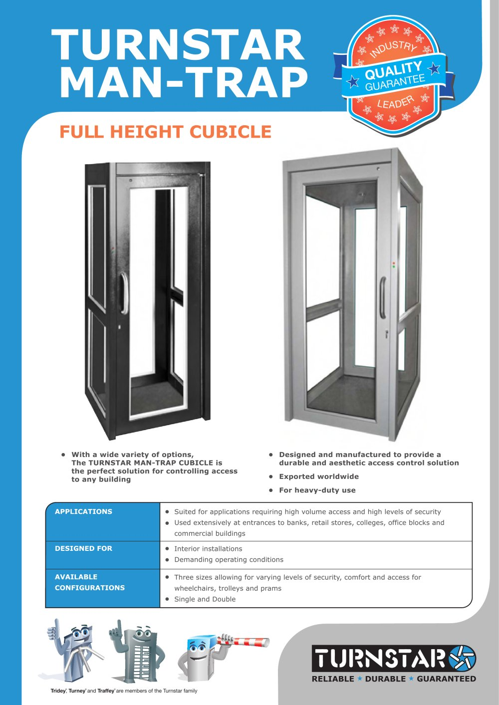 Man Trap Cubicle Brochure - Turnstar Systems - PDF Catalogues ... Wiring Diagram For A Man Trap on timing for a, accessories for a, frame for a, tires for a, cover for a, heater for a, body for a, headlight for a, parts for a, dimensions for a, timer for a,