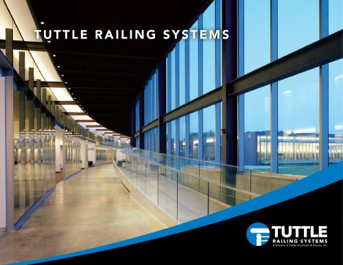 TUTTLE RAILING SYSTEMS - TUTTLE RAILING - PDF Catalogs
