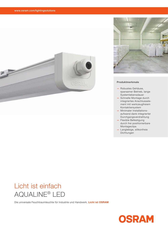 AQUALINE® LED - Siteco - PDF Catalogues | Documentation | Brochures