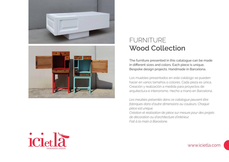 Ici Et L Wood Furniture 2016 Ici Et La Pdf Catalogues  # Muebles Handmade