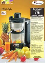 CENTRIFUGAL JUICER N&deg;50