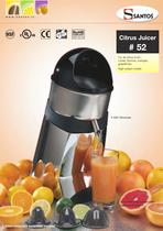 CITRUS JUICER N&deg;52