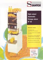 HIGH OUTPUT AUTOMATIC ORANGE JUICER N&deg;32