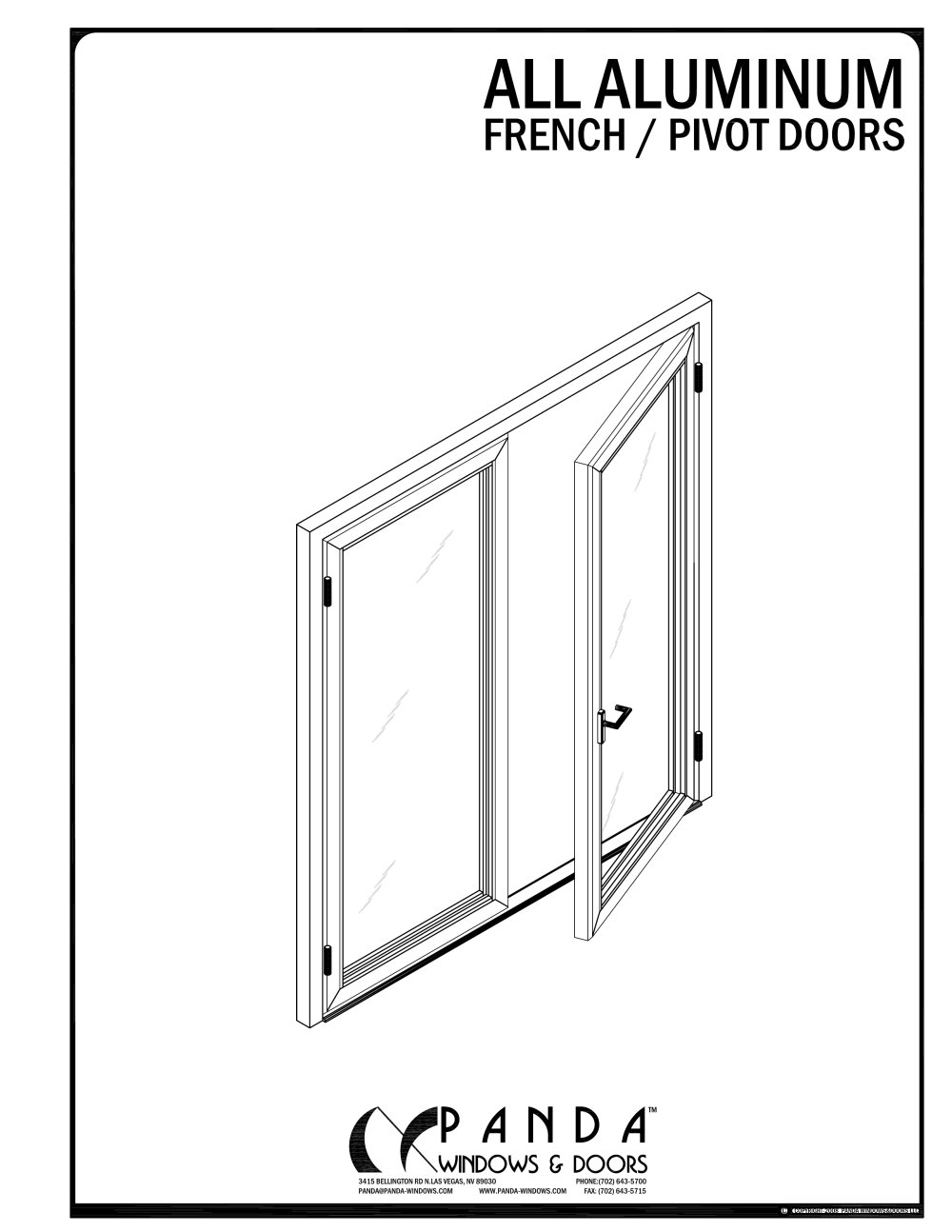 Aluminium French Pivot Door 1 10 Pages