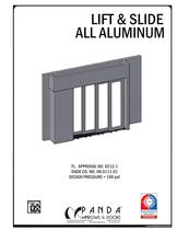 Lift &amp; Slide all aluminium