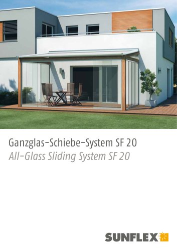 All Glass Sliding Doors SF20