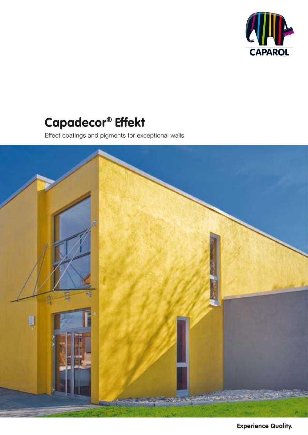 Brochure capadecor effekt   caparol   pdf catalogues ...