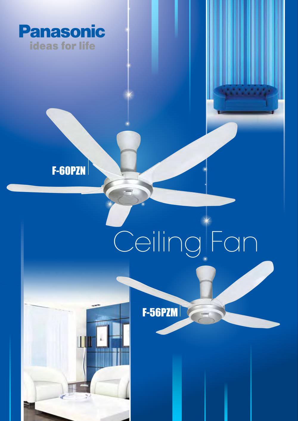Ceiling fan panasonic home appliances pdf catalogues ceiling fan 1 16 pages mozeypictures Gallery