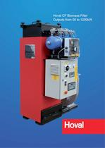 Hoval CF Biomass Filter Outputs from 50 to 1200kW