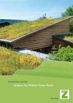 Pitched Green Roofs