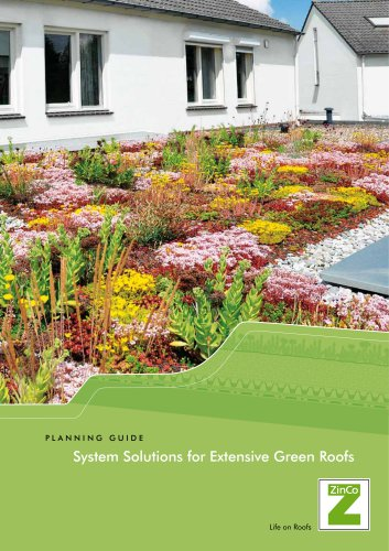 System Solutions for Extensive Green Roofs
