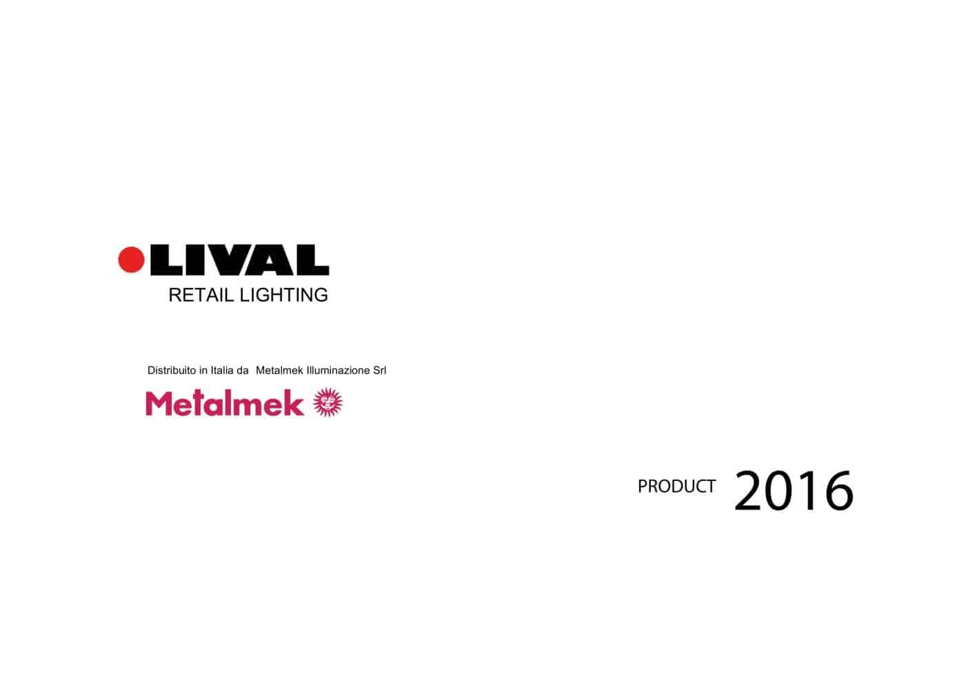 LIVAL RETAIL Catalog 2016 - Metalmek Illuminazione - PDF Catalogues ...