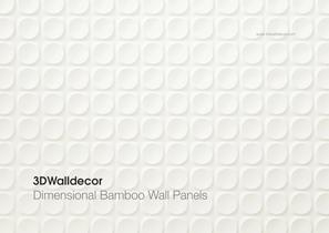 3DWalldecor - Bamboo Wall Panels