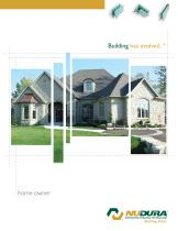 NUDURA | Home Owner Brochure
