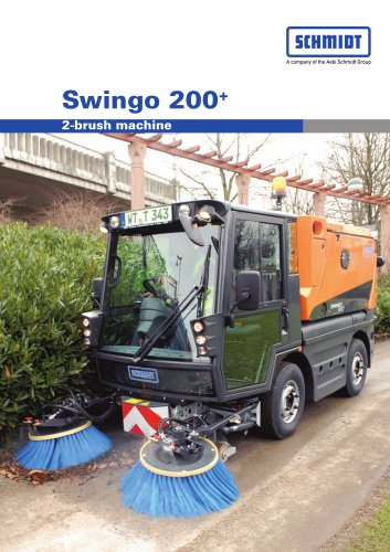 Swingo 200+2-brush machine
