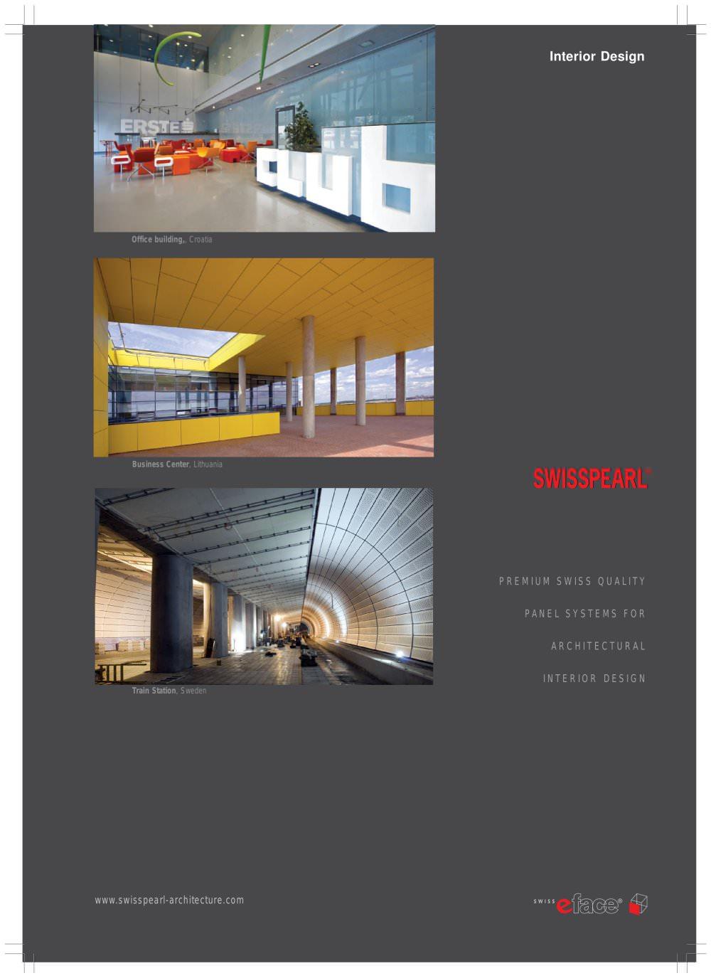 Interior Brochure Swisspearl Pdf Catalogs Documentation