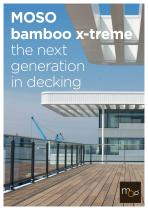 Bamboo X-treme - Outdoor decking