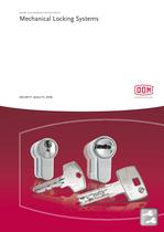 DOM mechanical locking systems 