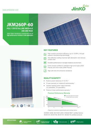 Jinko 305 Watt Solar Panel