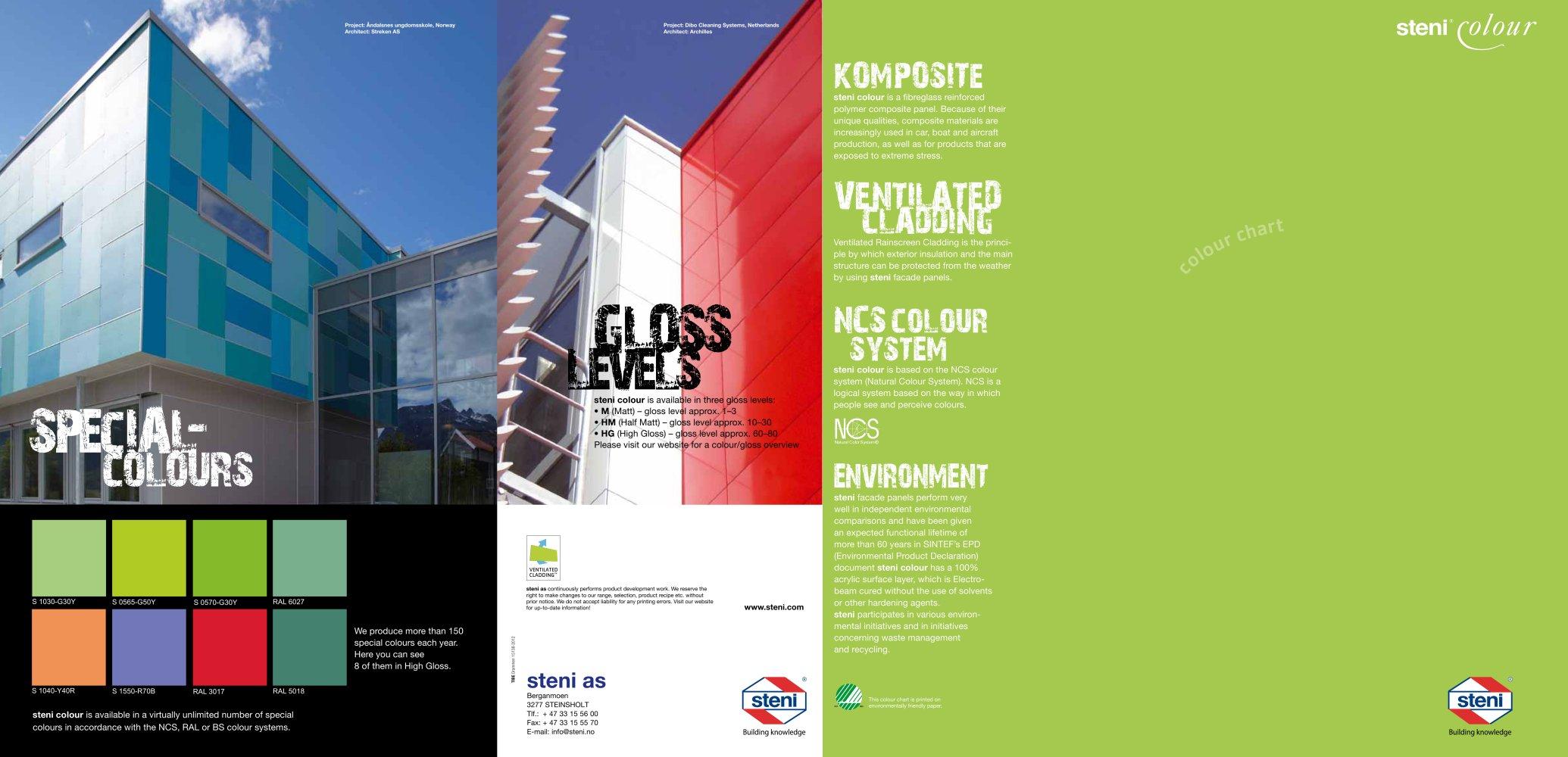 Steni Colour Colourchart Steni Pdf Catalogues Documentation