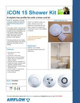 iCON 15 Shower Kit