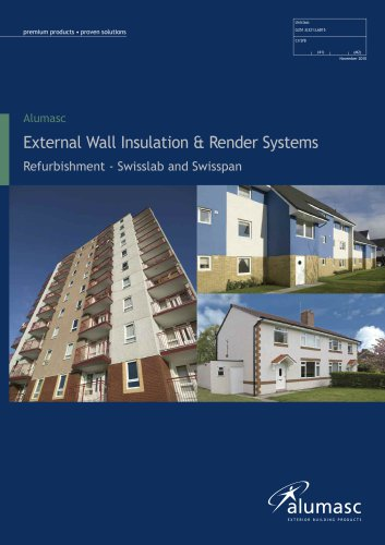 External Wall Insulation & Render Systems - Alumasc Exterior