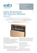 Solitex WA Breathable Wall Protection Membrane