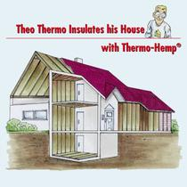 TThheeoo TThheerrmmoo IInnssuullaatteess hhiiss HHoouussee with Thermo-Hemp&reg;