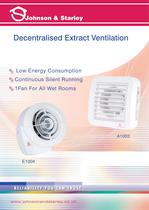 Decentralised Extract Ventilation