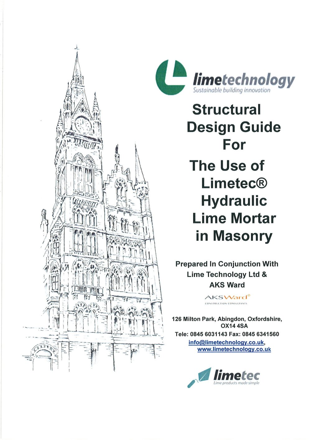 Structural Design Guide For The Use Of Limetec® Hydraulic Lime Mortars In  Masonry   1 / 17 Pages
