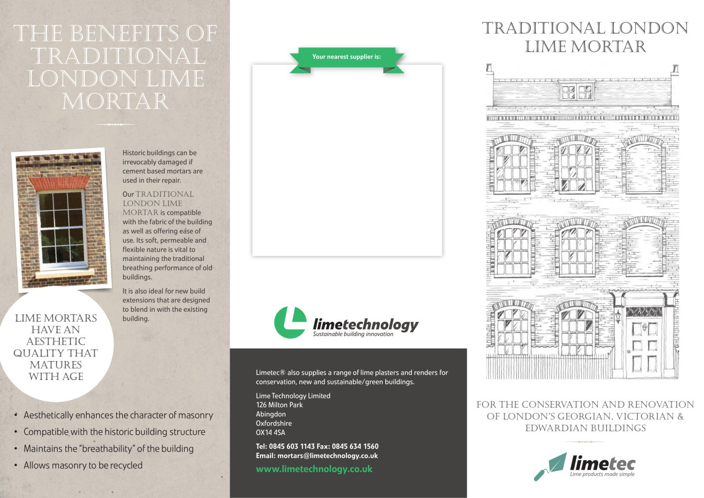 TRADITIONAL LONDON LIME MORTAR - 1 / 2 Pages