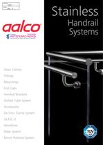 Stainless handrail systems