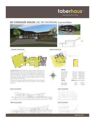 DE L'ENVOLÉE HOUSE LAC DE L'ACHIGAN, Laurentides