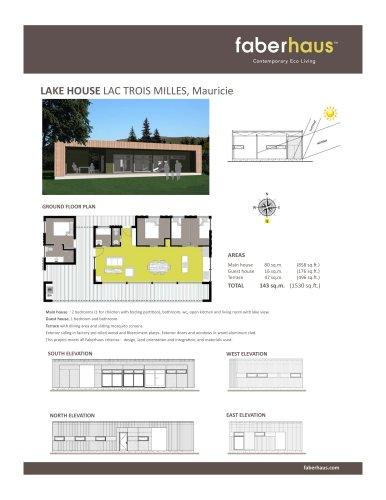 LAKE HOUSE LAC TROIS MILLES, Mauricie