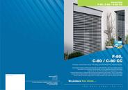External blinds, slat 80 mm