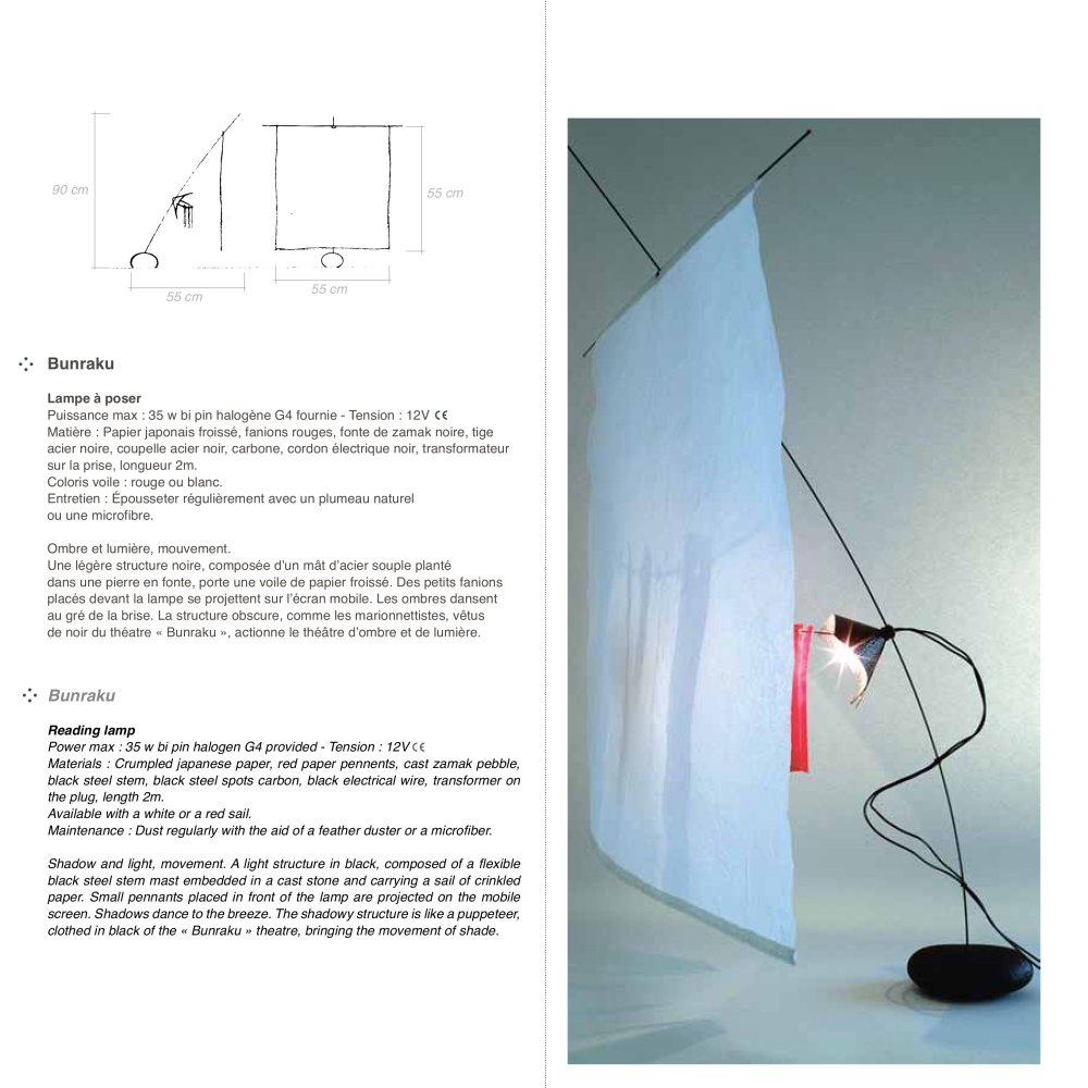 Bunraku - CÉLINE WRIGHT - PDF Catalogs   Documentation   Brochures 4dfa631a9b78