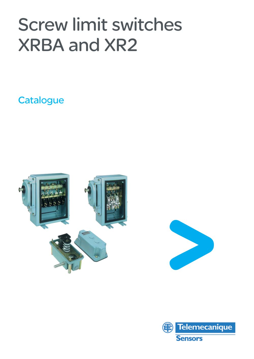 Cataloguescrew Limit Switches Xrba And Xr2 Schneider Electric Relay Pdf 1 22 Pages