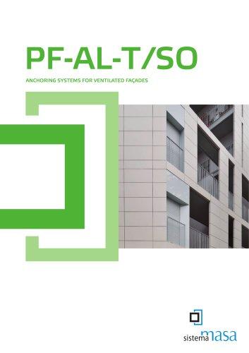 PF-ALT SO 120X60 Masa System  ENGLISH