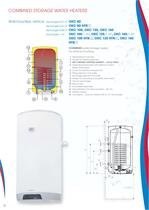 COMBINED STORAGE WATER HEATERS