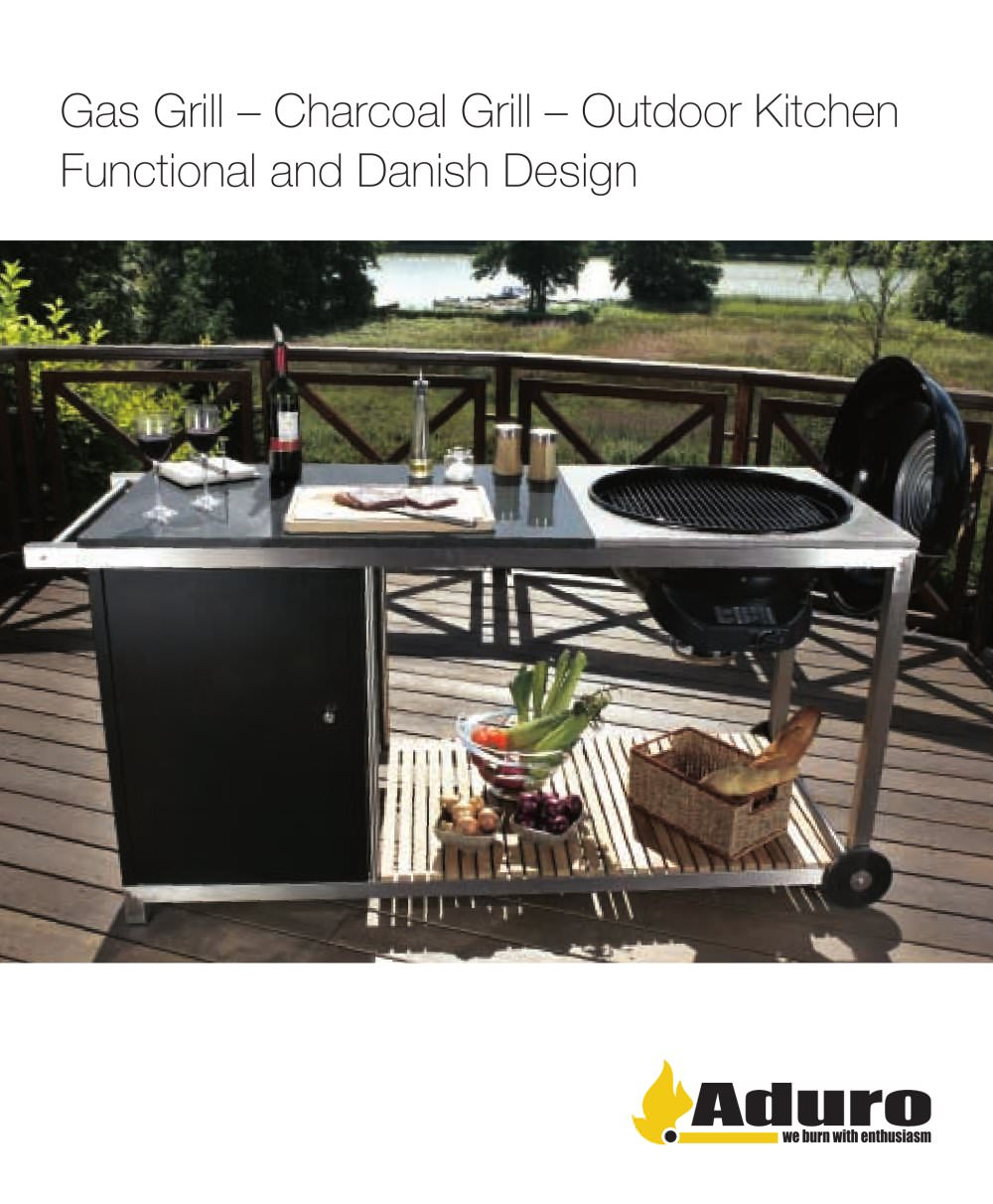 Outdoor Kitchen Gas Grill Gas Grill Aduro A S Pdf Catalogues Documentation Brochures