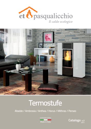 Catalogo Termostufe v.2 - 2013