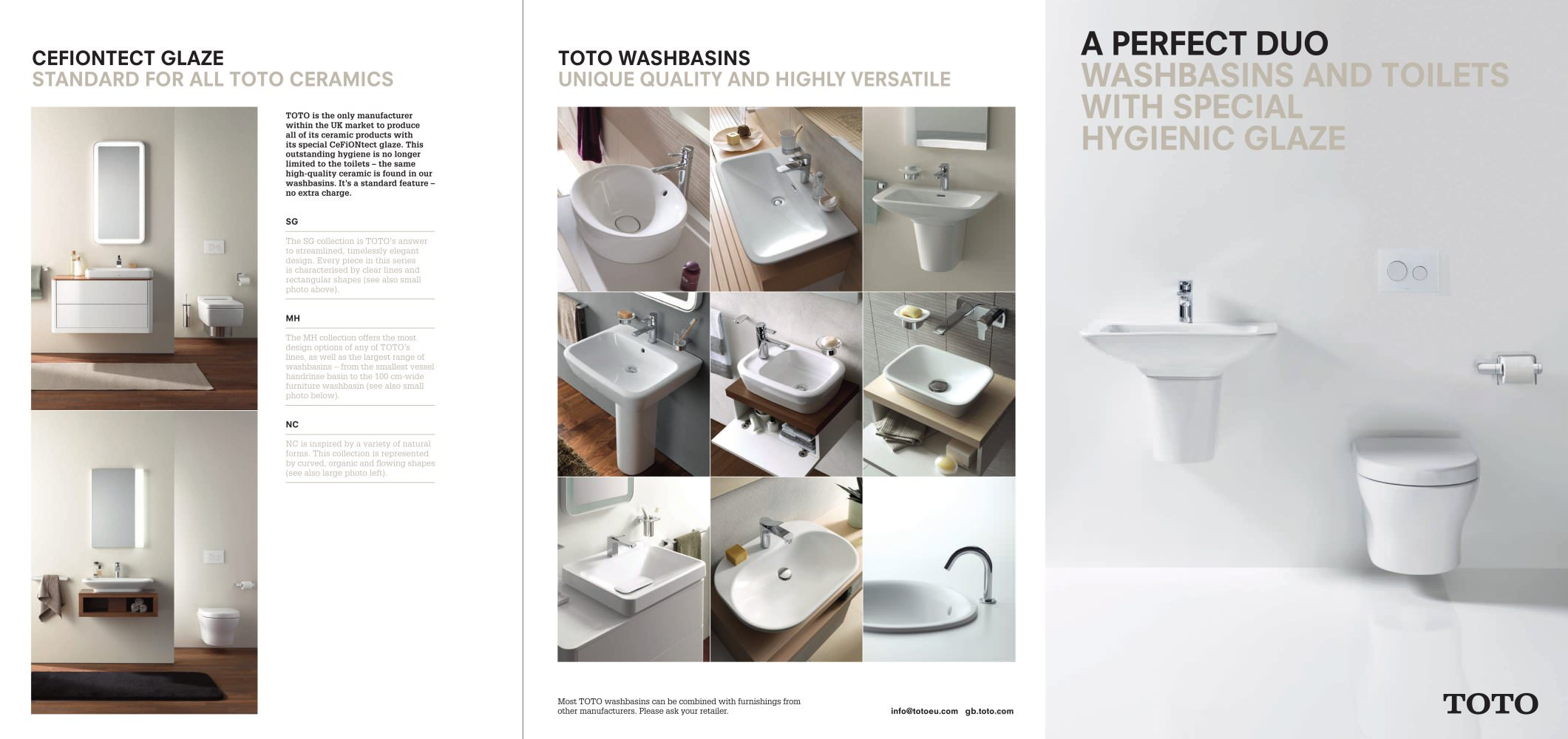A perfect duo - TOTO Europe GmbH - PDF Catalogues | Documentation ...