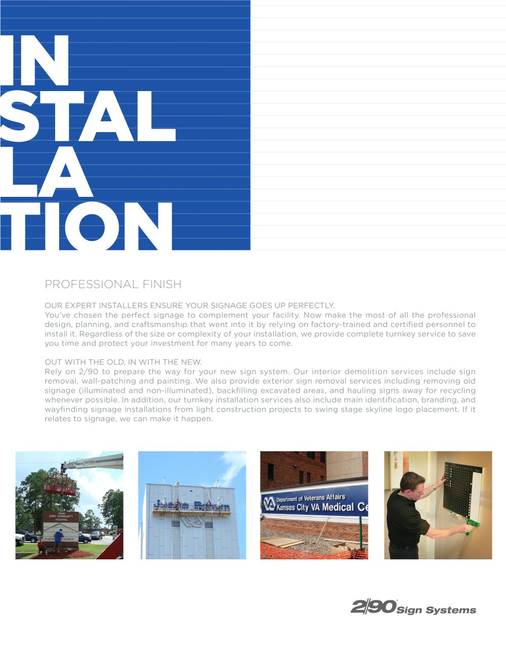 installation flyer 1 2 pages
