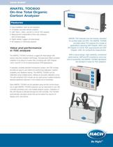 Anatel TOC600 On-line Total Organic Carbon Analyzer